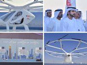 В ОАЕ протестували перше безпілотне літаюче таксі (відео)