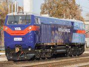В УЗ рассказали, как проявил себя американский локомотив в первых рейсах
